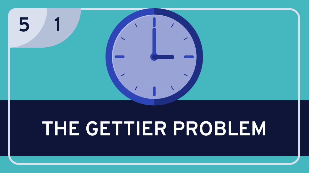 Epistemology: 5. | Analyzing Knowledge: 1. The Gettier Problem