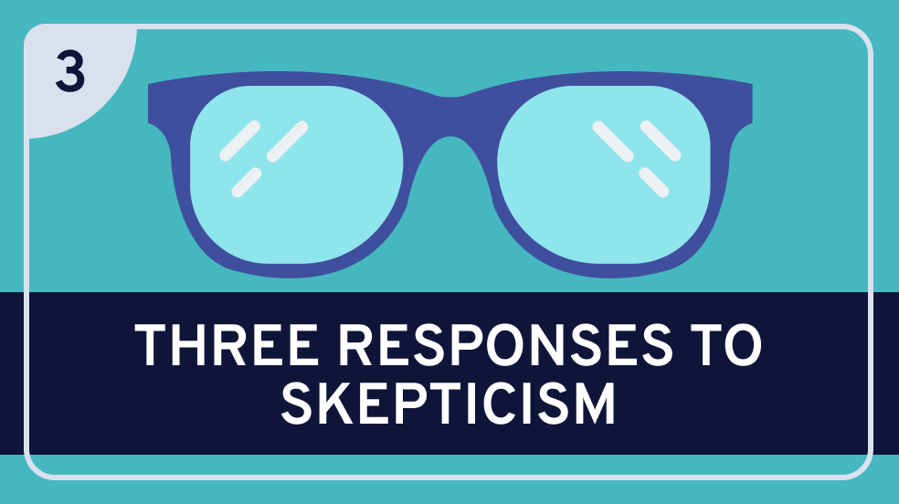 Epistemology: 3. Three Responses to Skepticism