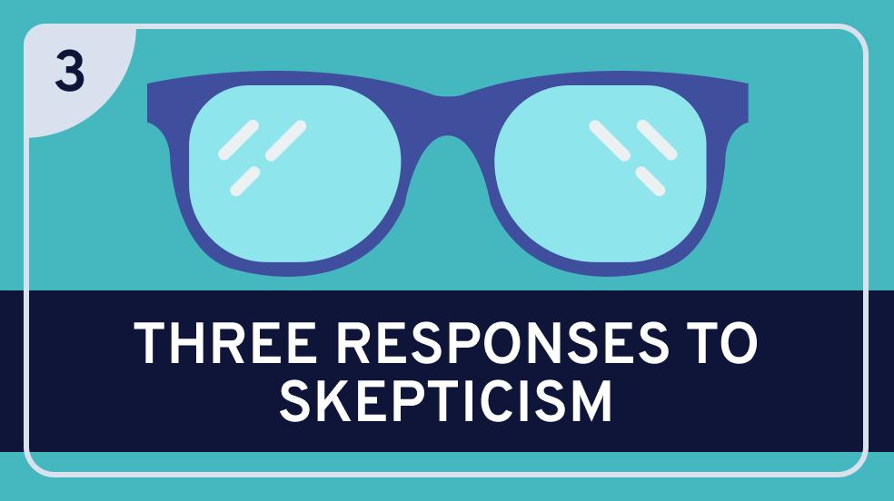 Epistemology: 3. Three Responses to Skepticism