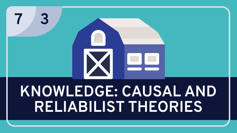Epistemology: 6. | Analyzing Knowledge: 3. Causal and Reliabilist Theories