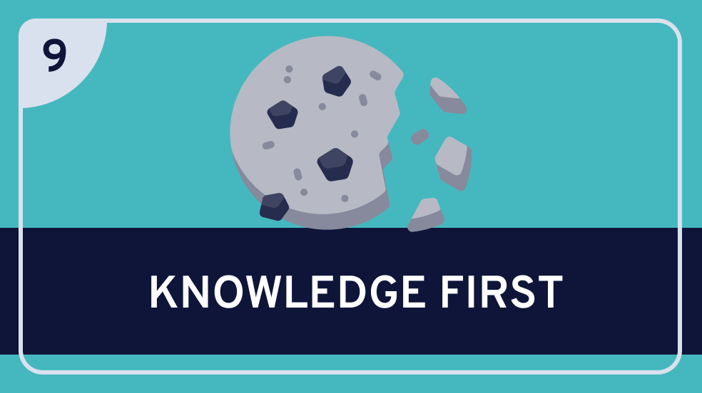 Epistemology: 9. 'Knowledge First' Epistemology