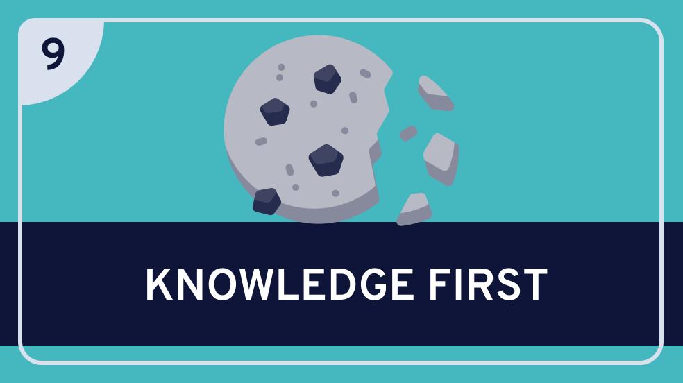 Epistemology: 9. 'Knowledge First' Epistemology