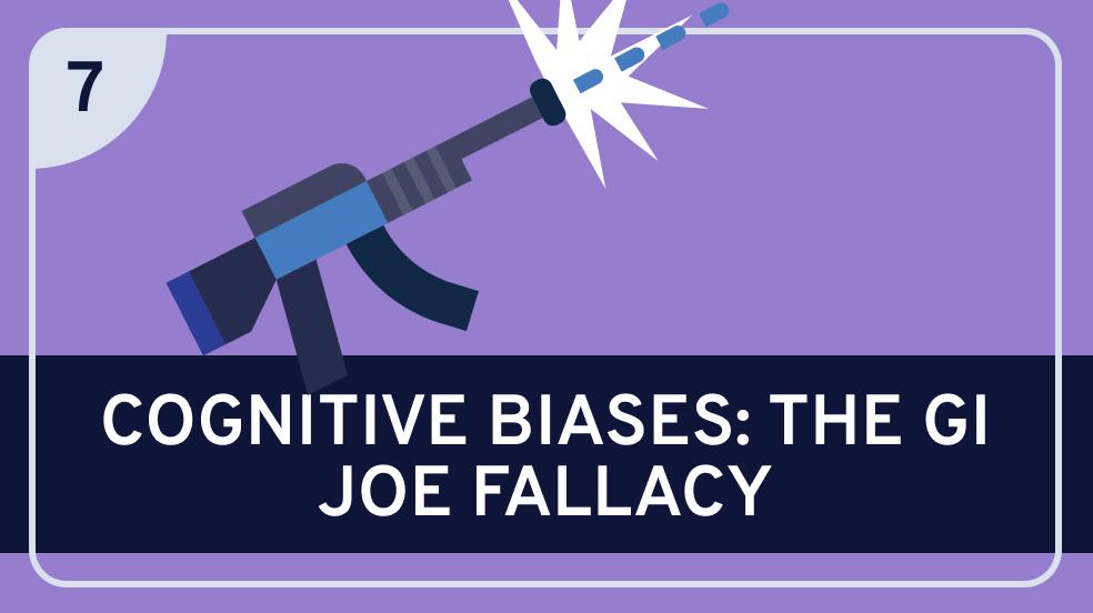 Cognitive Biases: The GI Joe Fallacy
