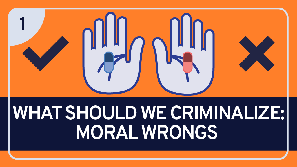 What Should we Criminalize: Moral Wrongs